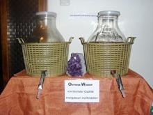 Fastenwanderzentrum Typfasten mit Osmose-Wasser
