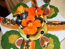fastenwandern mit mango avocado papaya enzyme