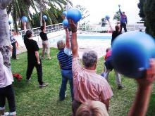 typfasten fastenwandern la palma lustige gymnastik