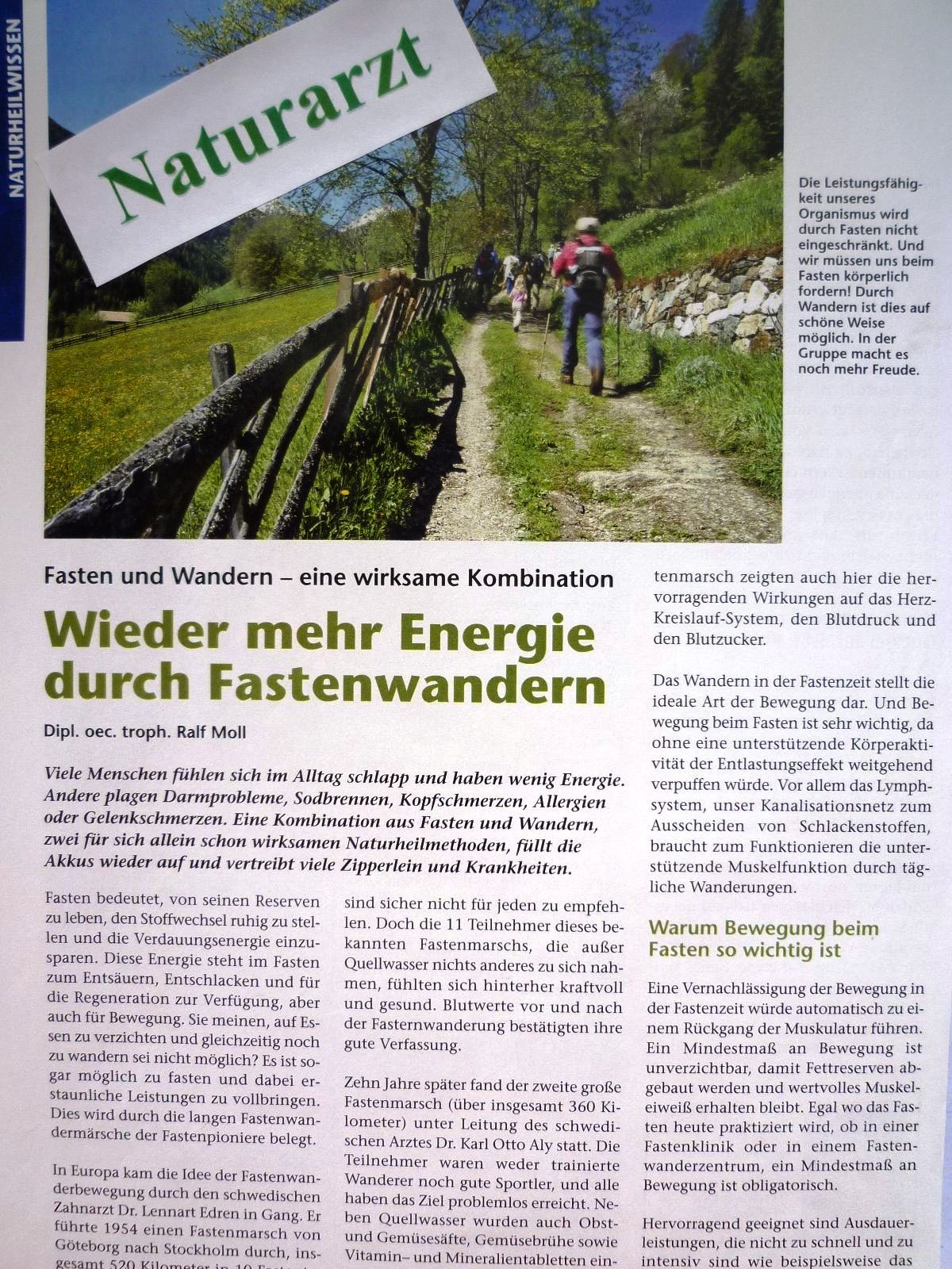 Zeitschrift Naturarzt 03/10