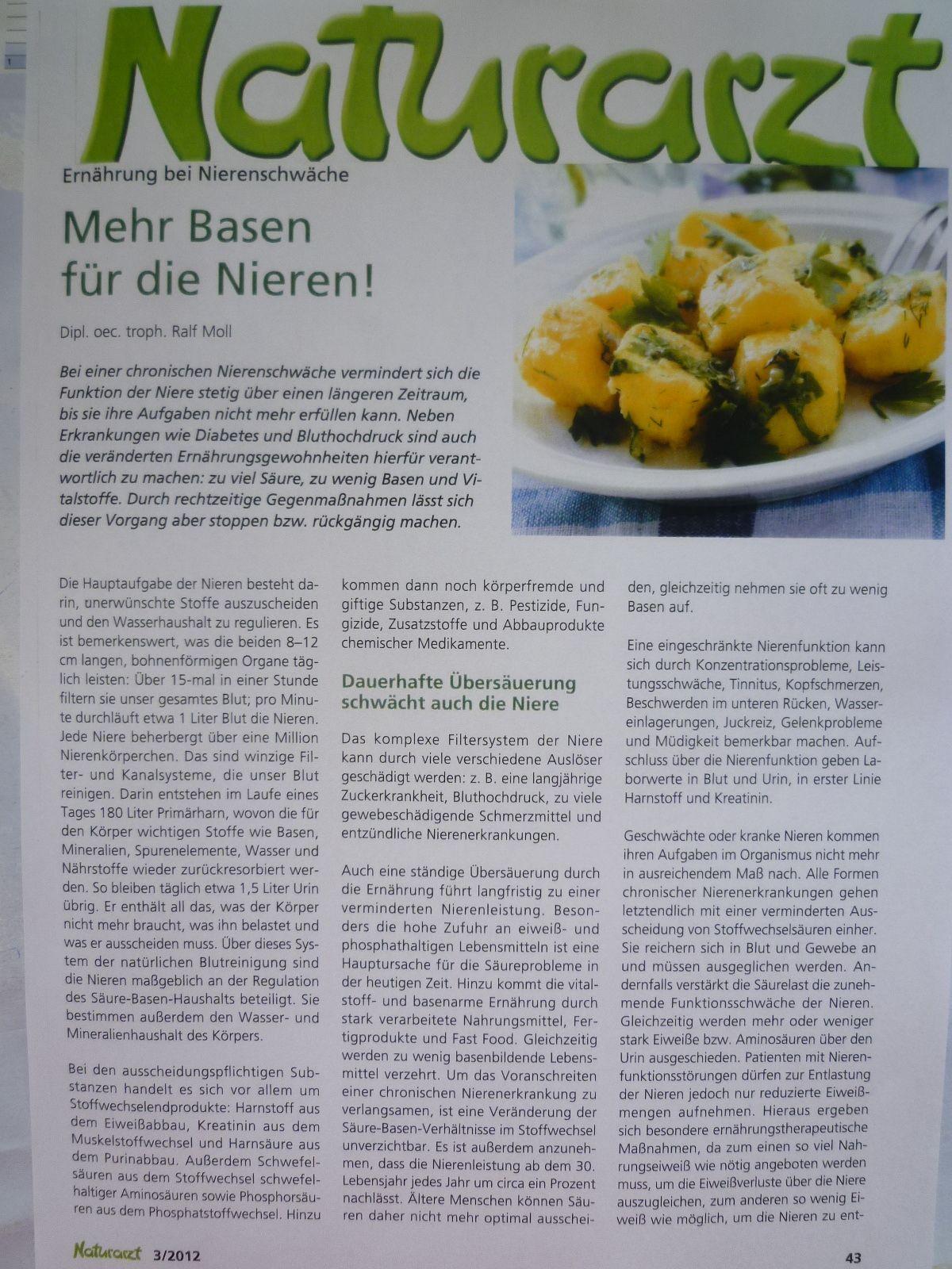 Zeitung Naturarzt 03/2012