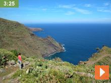 Fastenwandern Wandergruppe La Palma Kanaren video