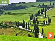Fastenwandern Wandergruppe Toskana video