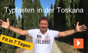 "Fastenwandern Typfasten Ralf Moll in der Toskana ""Fit in 7 Tagen"""