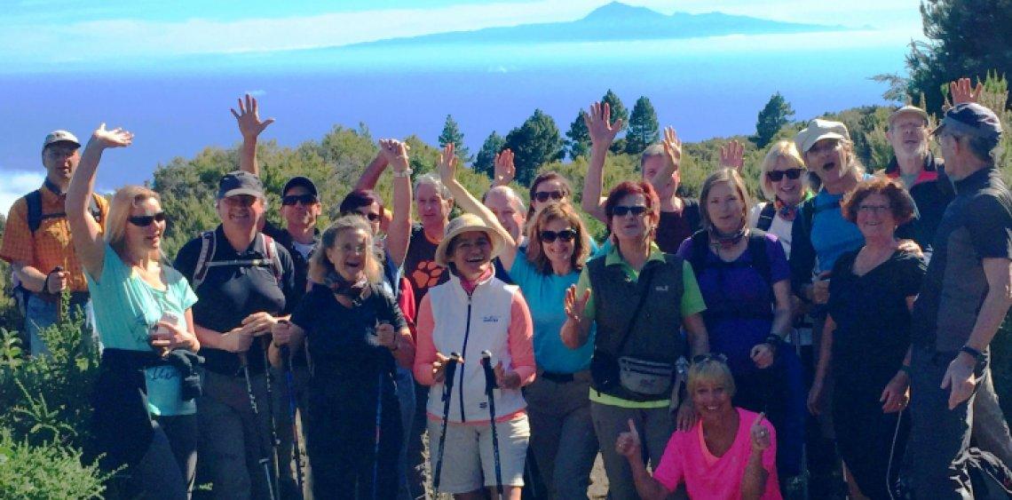 Fastenwandern Fasten La Palma