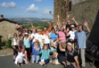 Toskana fastenwandern durch alte Dörfer
