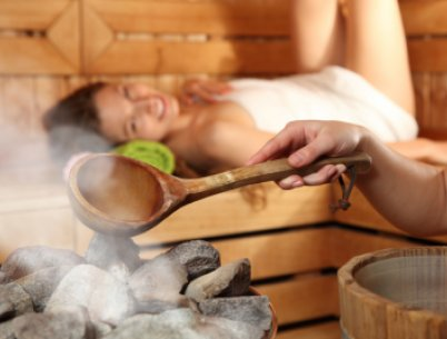 Wellness-Sauna im Schwarzwald