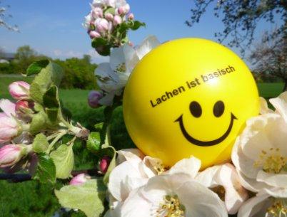 Unser eigenes Motto: Lachen ist basisch