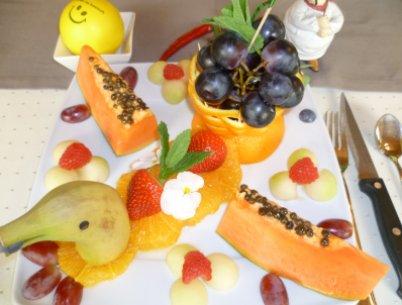 Fastenwandern Fasten mit Früchten