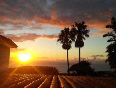 Wow! Sonnenuntergang auf La Palma