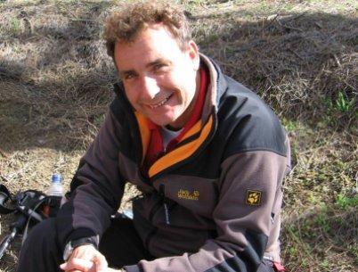 Ralf Moll während der Fastenwanderung