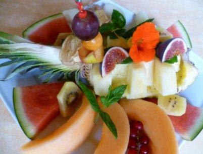 Fastenwandern Typfasten mit Früchten