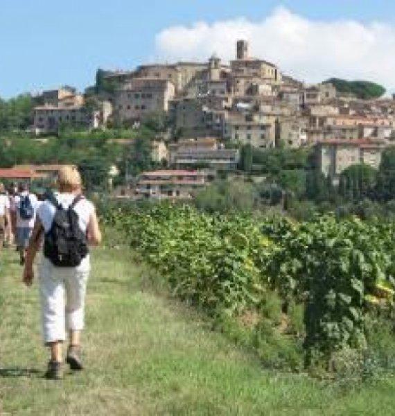 Wanderung rund um das alte Dorf Casale