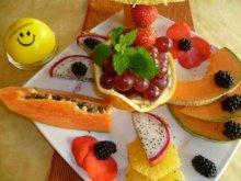 Fastenfrühstück für die Früchtefaster