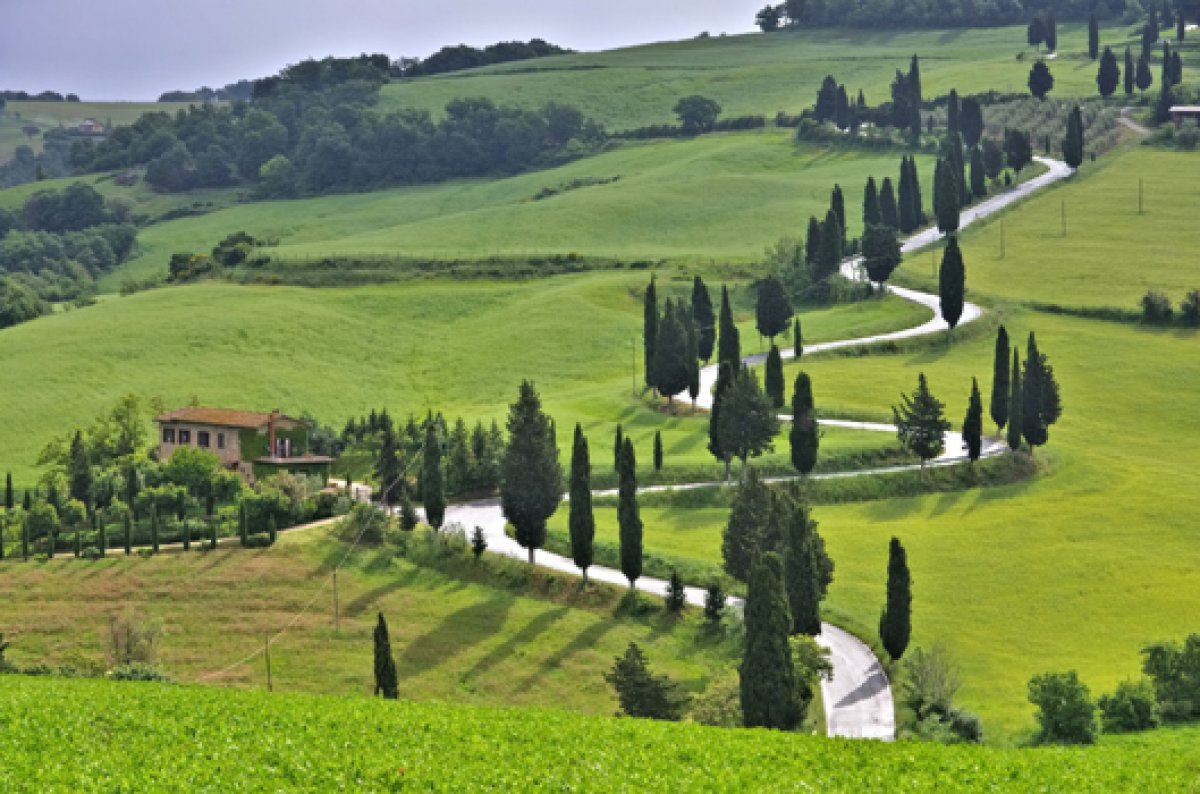 Fastensaison Fastenwandern in Italien Toskana