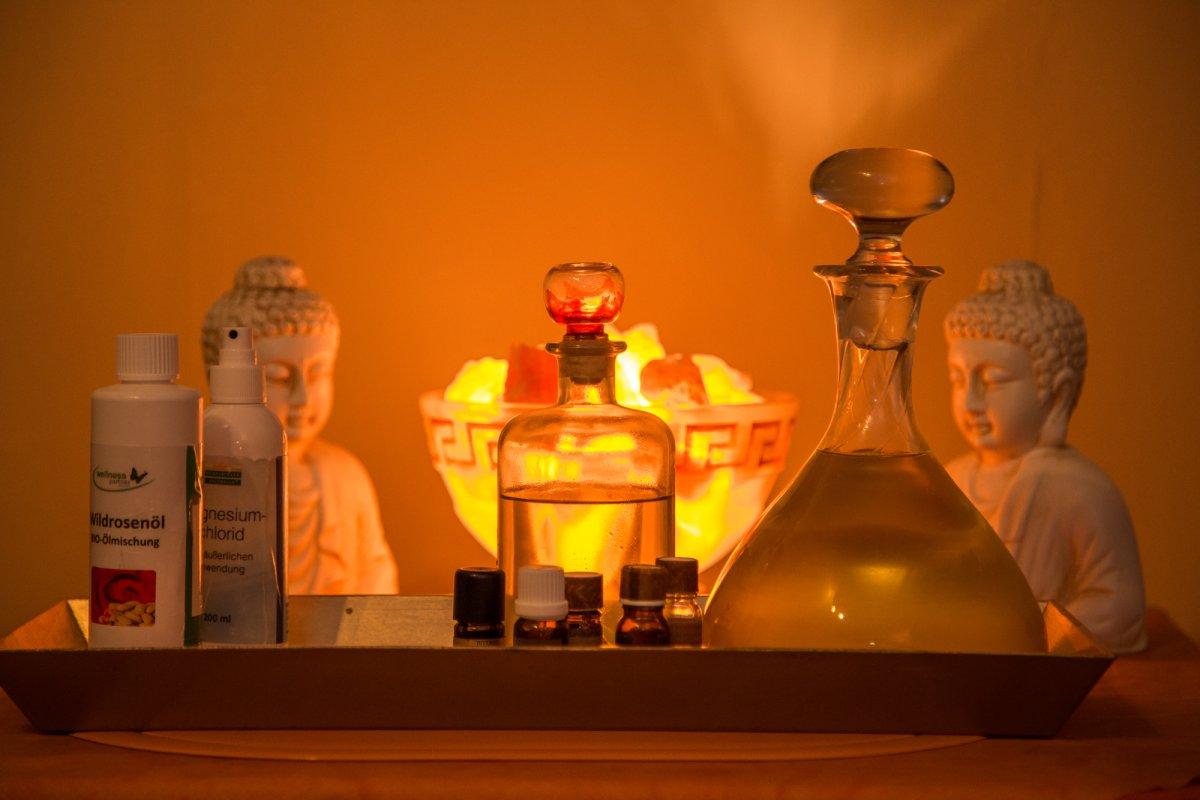 Tolle Wellness-Massagen mit erlesenen Massage-Ölen