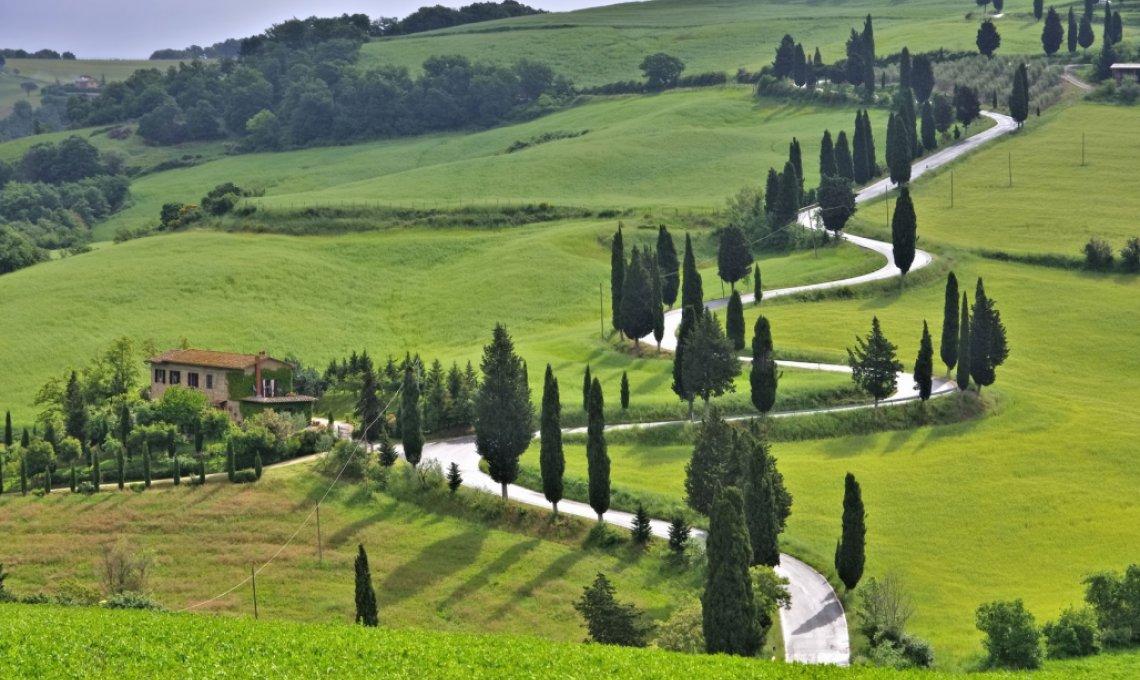 Toskana Feeling...Fastenwandern durch die Toskana