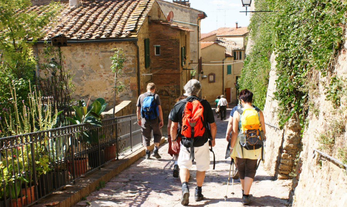 Tolles Fastenwandern durch alte Dörfer