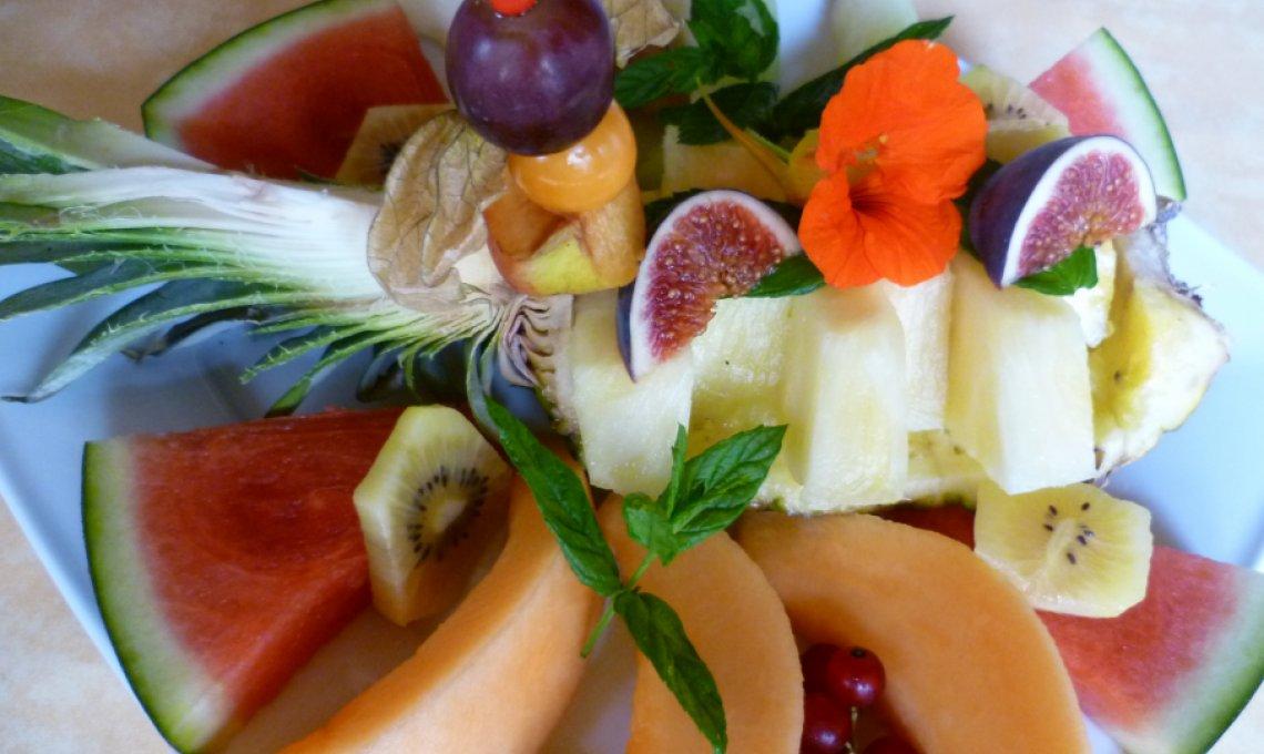 Typfasten mit frischem Früchtefasten