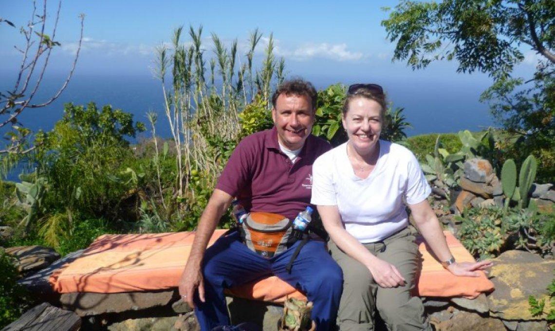 Ralf Moll mit Esther Langmaack, Freie Journalistin