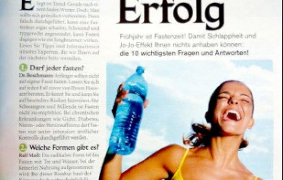 Zeitschrift fit for fun 5/03