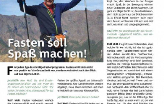 """Ralf Moll """"Fasten soll Spaß machen!"""""""