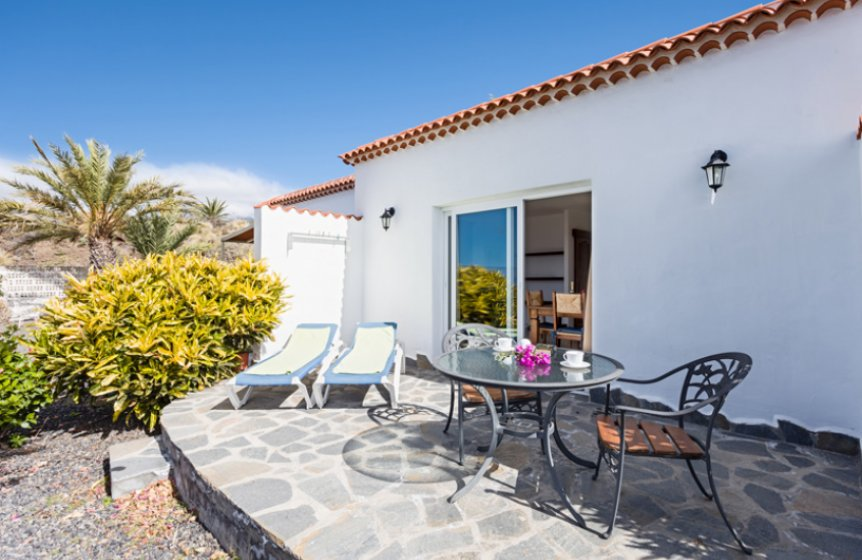 Bungalow mit Terrasse - La Palma