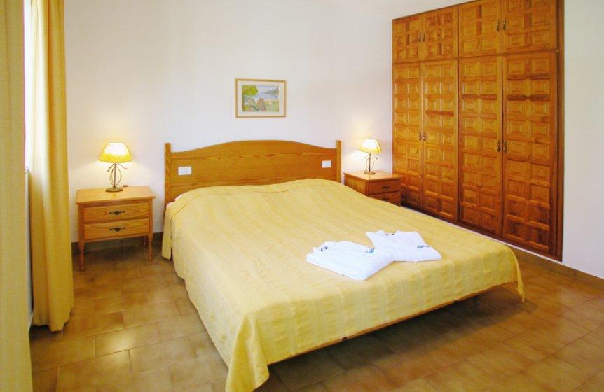 Die Schlafzimmer (EZ oder DZ) in der Seminaranlage