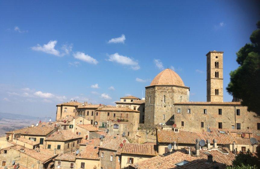 Stadtbesichtigung von Volterrra / Toskana