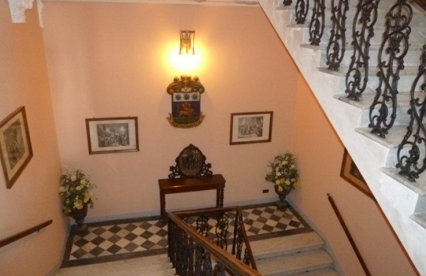 Aufgang zu den Appartements - Toskana Seminaranlage