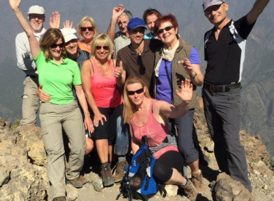 Ziel erreicht: Fit in 10 Tagen auf La Palma