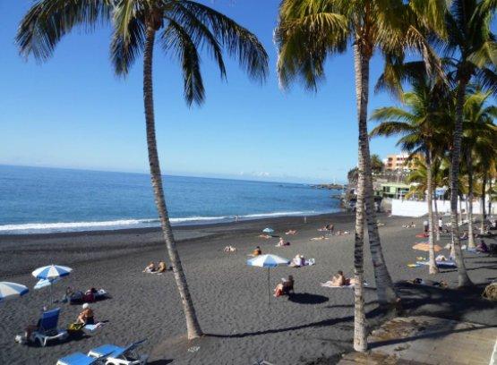 Nachmittags am Strand auf La Palma