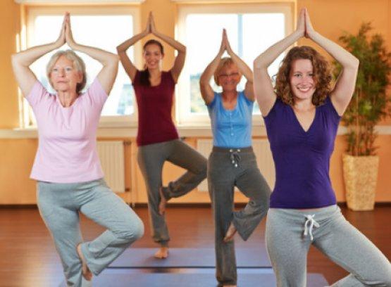Fastenwandern und Yoga