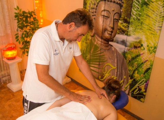 Fastenwandern mit Massage