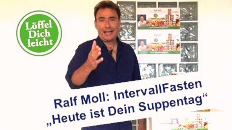 Ralf Moll Intervallfasten mit veganen Biosuppen