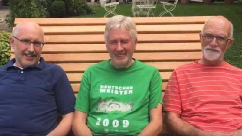 Fastenwandern Fasten Fastenerfahrungen drei Herren