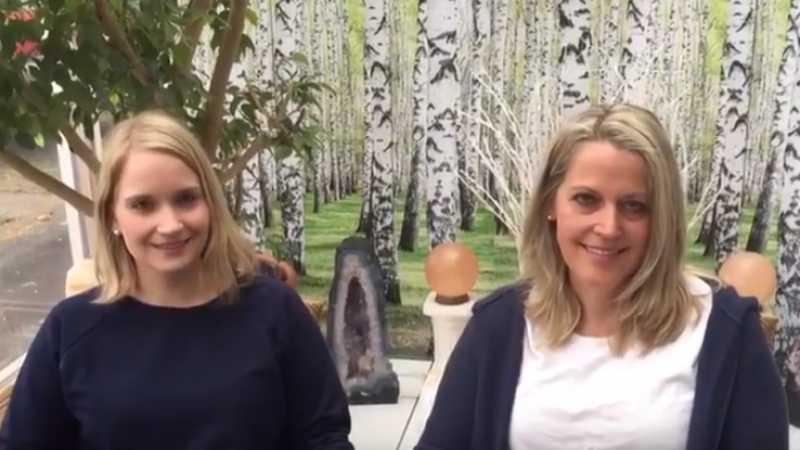 Fastenwandern im Schwarzwald mit Mutter und Tochter