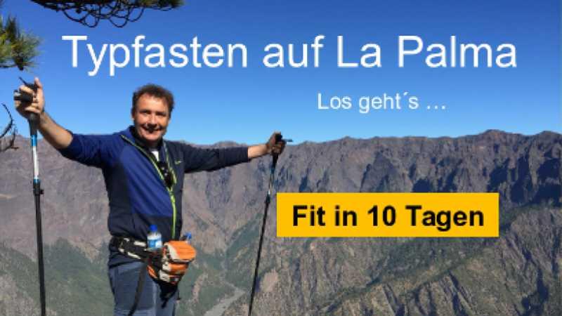 Fastenwandern auf La Palma erleben mit Ralf Moll