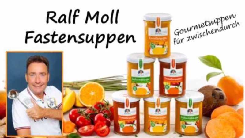 Ralf Molls Biofastensuppen im Glas