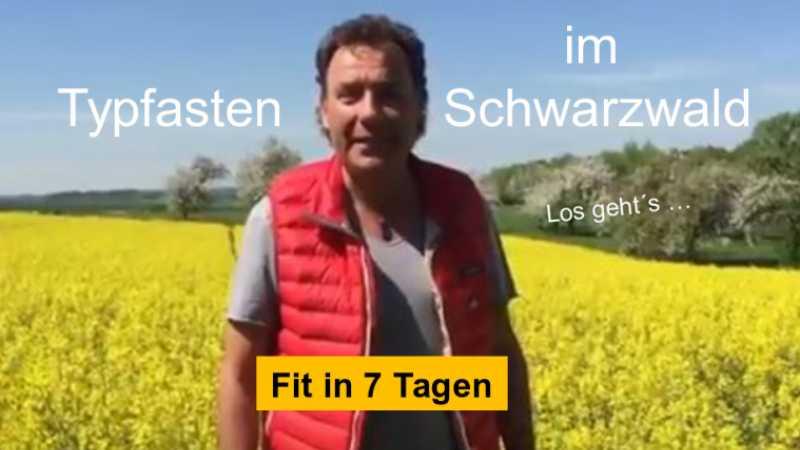 Fastenwandern im Schwarzwald erleben mit Ralf Moll