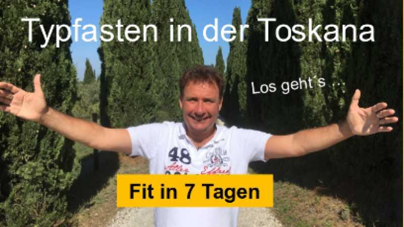 Mit Ralf Moll Fastenwandern in der Toskana erleben ...
